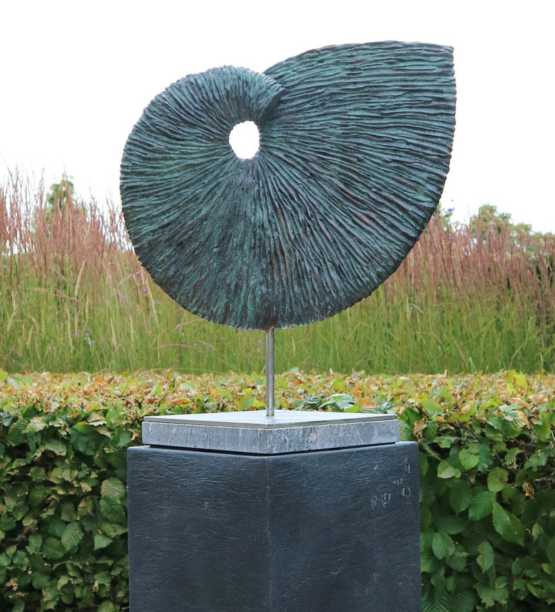 Stunning Ammonite Sculpture on plinth