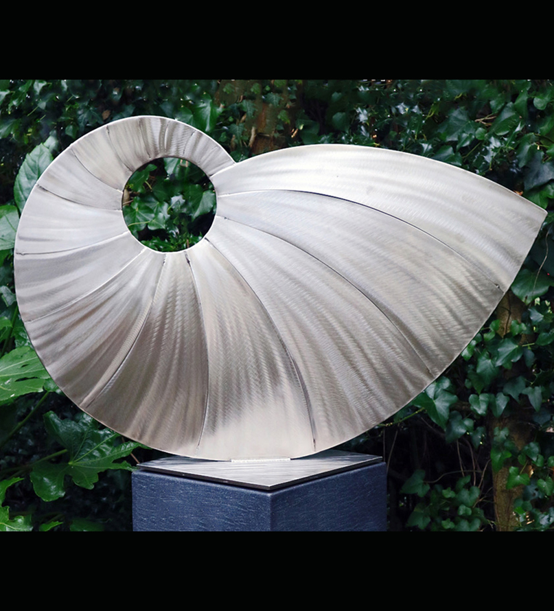 The Nautilus Sculpture by Ian Marlow